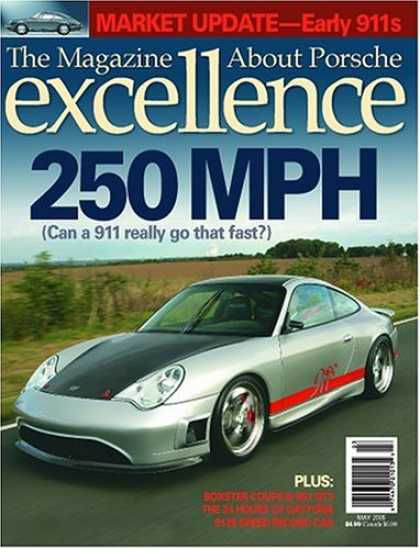 Bestselling Magazines (2008) - Excellence: The Magazine About Porsche