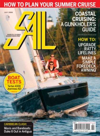 Bestselling Magazines (2008) - Sail