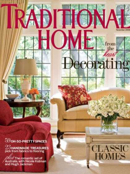 Bestselling Magazines (2008) - Traditional Home