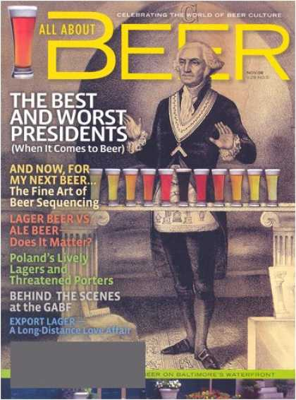 Bestselling Magazines (2008) - All About Beer