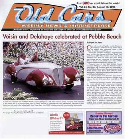 Bestselling Magazines (2008) - Old Cars Weekly