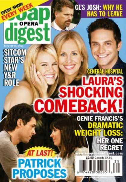Bestselling Magazines (2008) - Soap Opera Digest