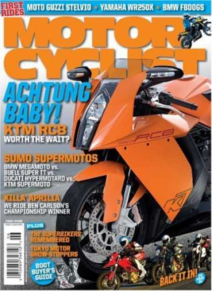 Bestselling Magazines (2008) - Motorcyclist