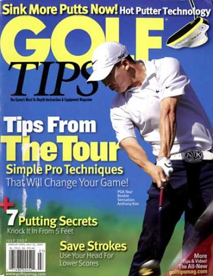 Bestselling Magazines (2008) - Golf Tips