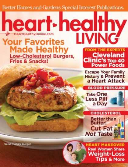 Bestselling Magazines (2008) - Heart Healthy Living