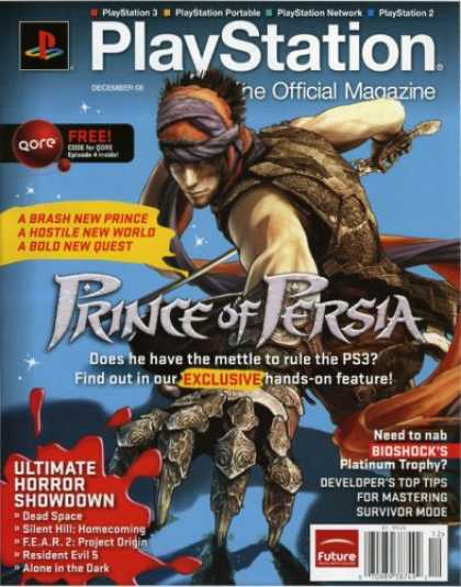 Bestselling Magazines (2008) - PlayStation: The Official Magazine