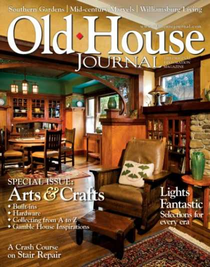 Bestselling Magazines (2008) - Old House Journal