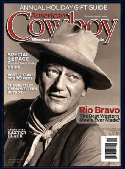 Bestselling Magazines (2008) - American Cowboy