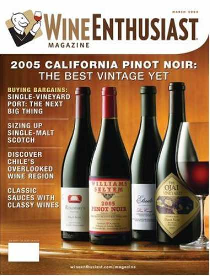 Bestselling Magazines (2008) - Wine Enthusiast