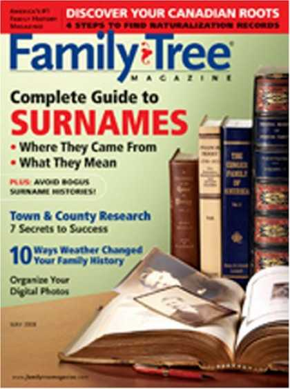 Bestselling Magazines (2008) - Family Tree Magazine
