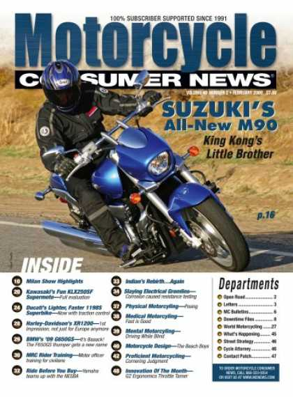Bestselling Magazines (2008) - Motorcycle Consumer News