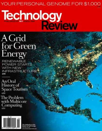 Bestselling Magazines (2008) - Technology Review/MIT