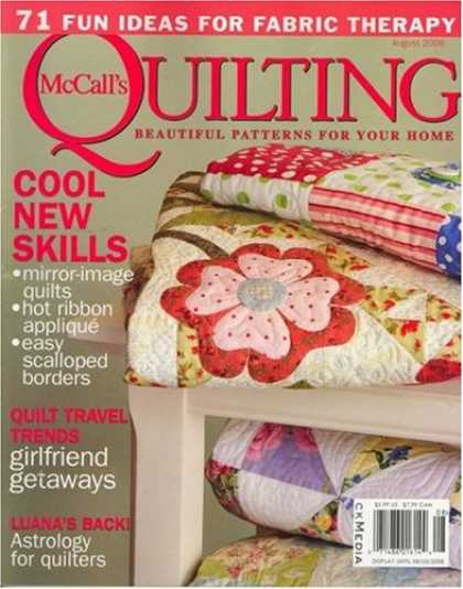 Bestselling Magazines (2008) - McCall's Quilting
