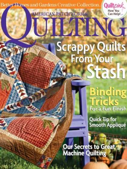 Bestselling Magazines (2008) - American Patchwork & Quilting