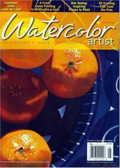 Bestselling Magazines (2008) - Watercolor Artist