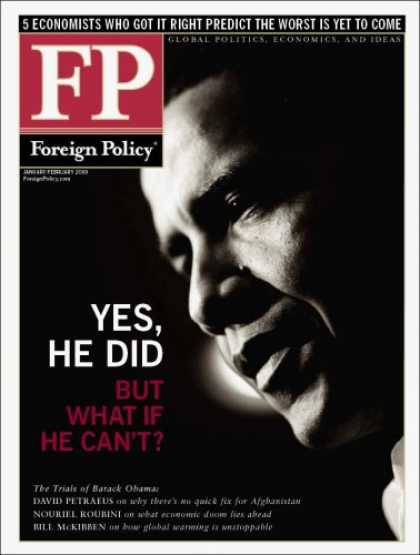 Bestselling Magazines (2008) - Foreign Policy
