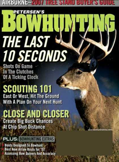 Bestselling Magazines (2008) - Bowhunting