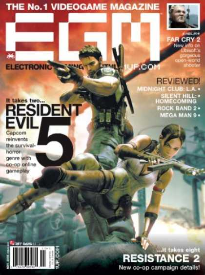 Bestselling Magazines (2008) - Electronic Gaming Monthly