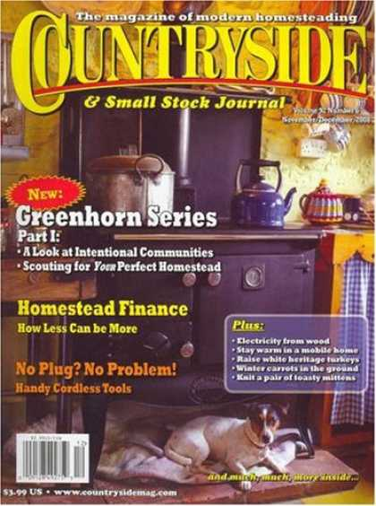 Bestselling Magazines (2008) - Countryside & Small Stock Journal
