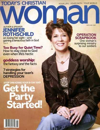 Bestselling Magazines (2008) - Today's Christian Woman