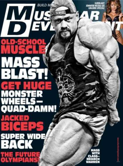 Bestselling Magazines (2008) - Muscular Development