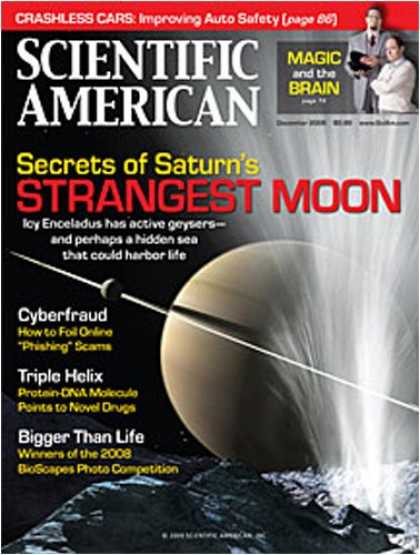 Bestselling Magazines (2008) - Scientific American
