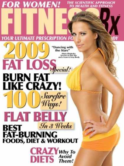 Bestselling Magazines (2008) - Fitness Rx For Women