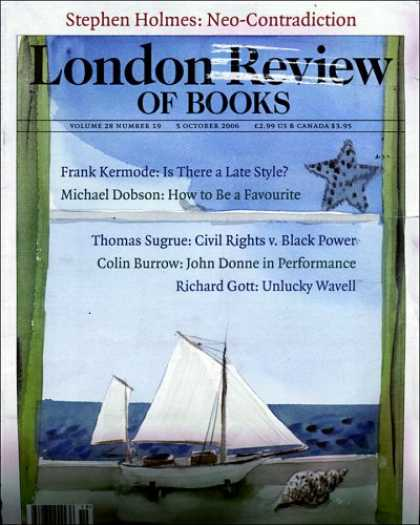 Bestselling Magazines (2008) - London Review of Books