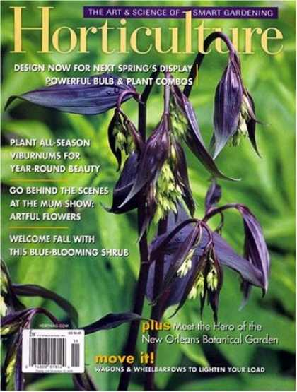 Bestselling Magazines (2008) - Horticulture