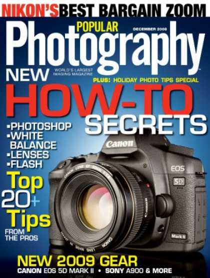 Bestselling Magazines (2008) - Popular Photography & Imaging