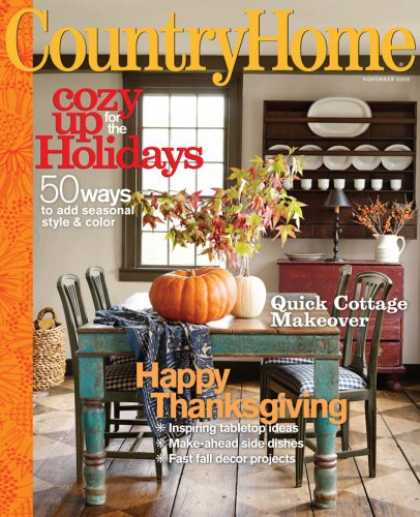 Bestselling Magazines (2008) - Country Home