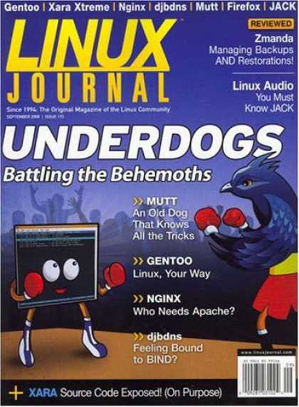 Bestselling Magazines (2008) - Linux Journal