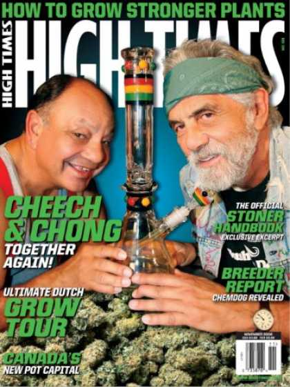 Bestselling Magazines (2008) - High Times