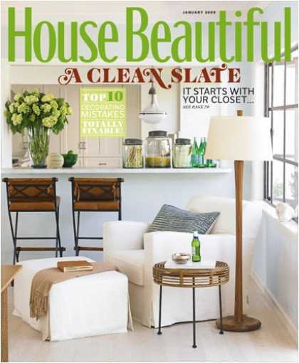 Bestselling Magazines (2008) - House Beautiful