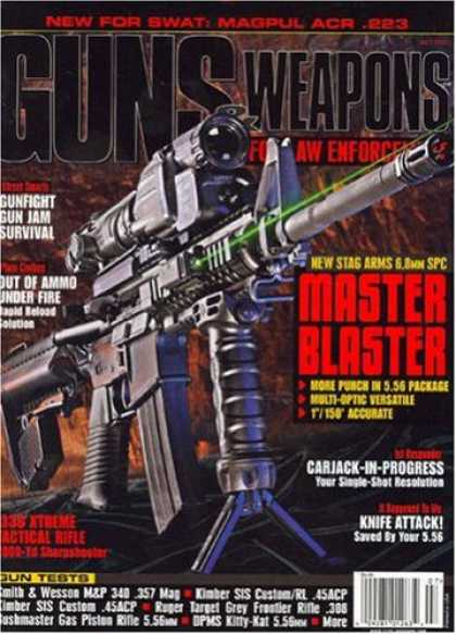 Bestselling Magazines (2008) - Guns & Weapons for Law Enforcement