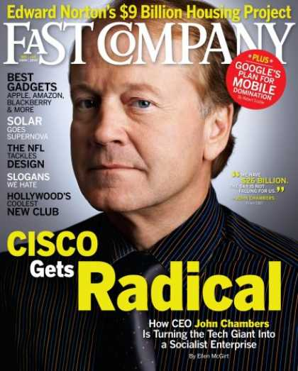 Bestselling Magazines (2008) - Fast Company