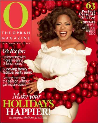 Bestselling Magazines (2008) - O, The Oprah Magazine (3-month)