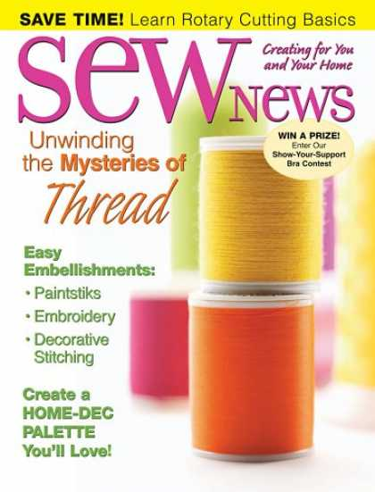 Bestselling Magazines (2008) - Sew News
