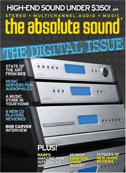 Bestselling Magazines (2008) - The Absolute Sound