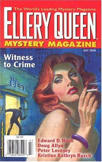 Bestselling Magazines (2008) - Ellery Queens Mystery Magazine