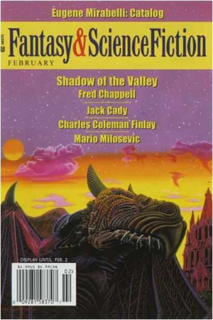 Bestselling Magazines (2008) - Fantasy & Science Fiction