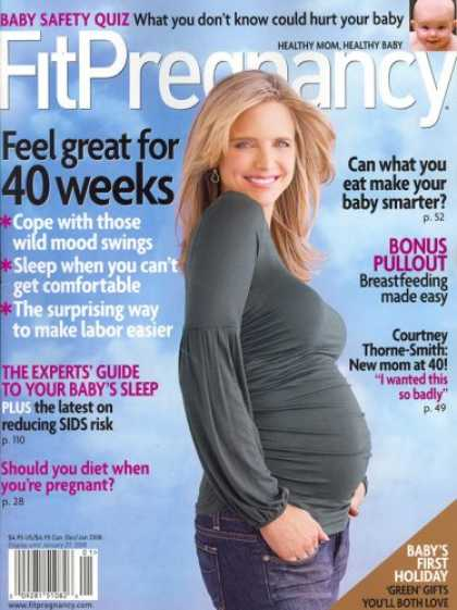 Bestselling Magazines (2008) - Fit Pregnancy