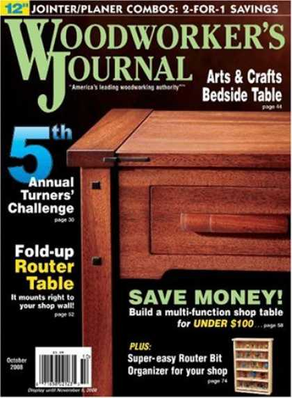 Bestselling Magazines (2008) - Woodworker's Journal, The