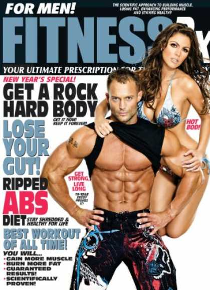 Bestselling Magazines (2008) - Fitness Rx For Men