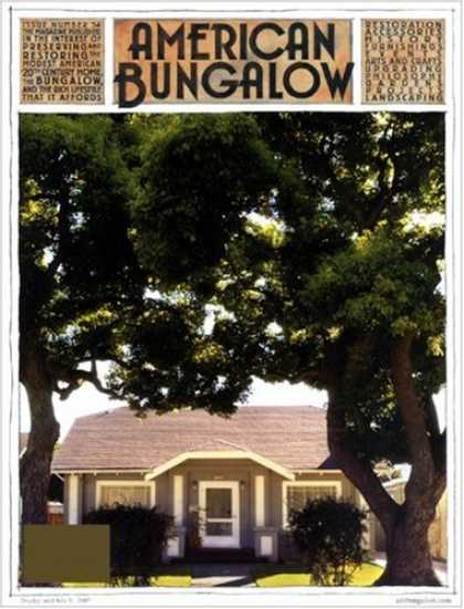 Bestselling Magazines (2008) - American Bungalow