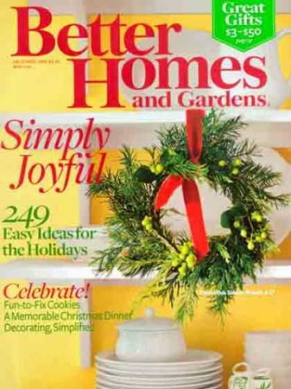 Bestselling Magazines (2008) - Better Homes and Gardens