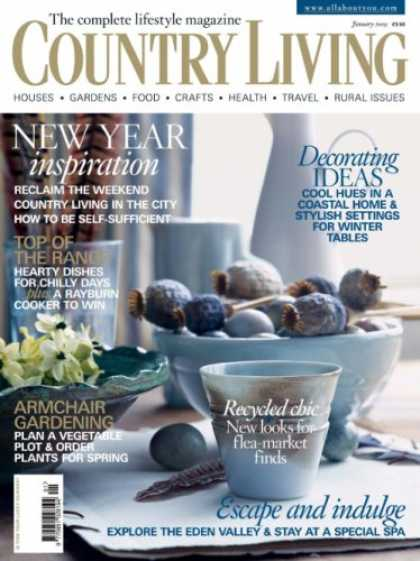 Bestselling Magazines (2008) - Country Living - England