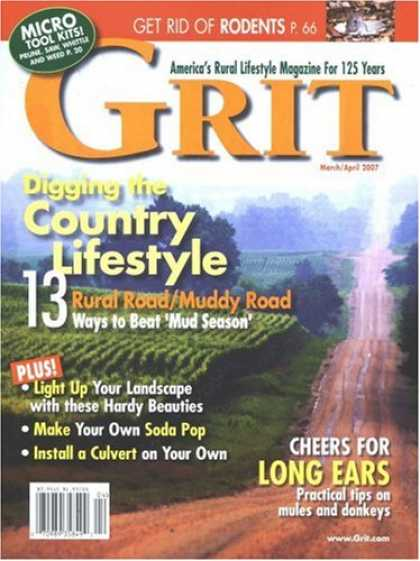 Bestselling Magazines (2008) - Grit - National Edition