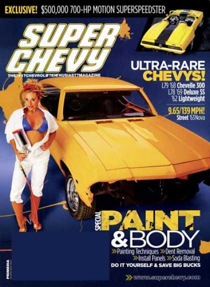 Bestselling Magazines (2008) - Super Chevy