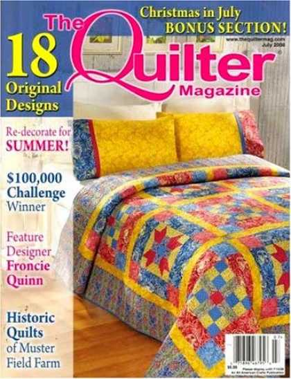 Bestselling Magazines (2008) - Quilter